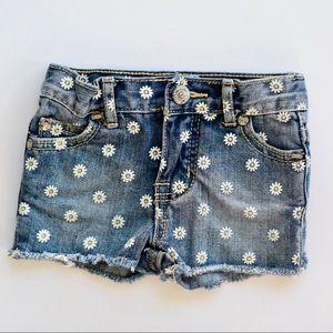 Peek Daisy Toddler Girl Jean Shorts